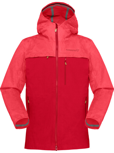 Norrøna W's Svalbard Cotton Jacket Crisp Ruby